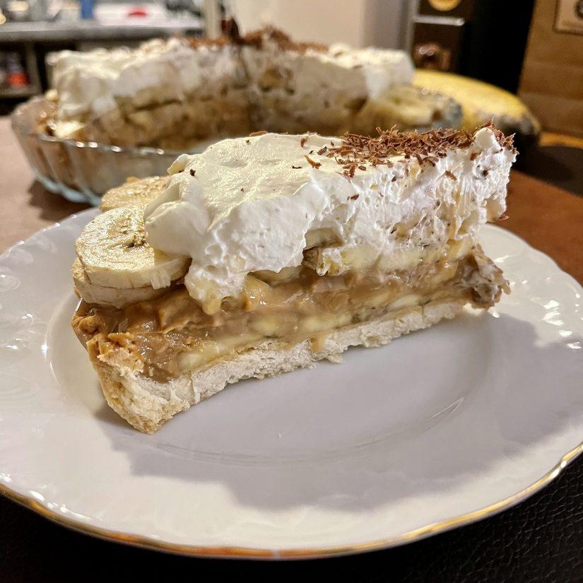 Banoffee pīrāgs